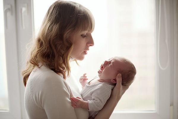 traitement d'ostéopathie pour nouveau-né