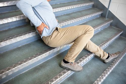 Accident de travail : Chute au travail
